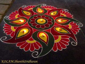 Rangoli by Shanthi Sridharan KOLAM